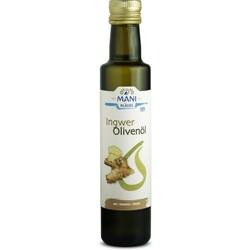 MANI Olivenöl, mit Ingwer bio, 0,25 l Flasche