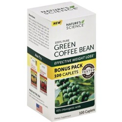 Natures Science Green Coffee Bean