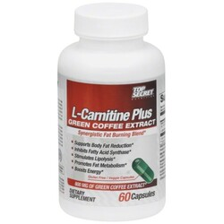 Top Secret L-Carnitine Plus Green Coffee Extract