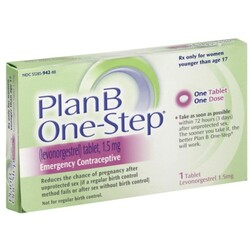 Plan B Emergency Contraceptive