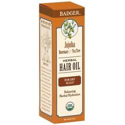 Badger Herbal Hair Oil