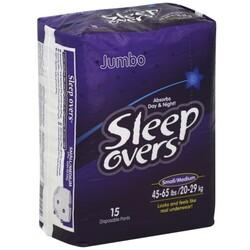 Sleep Overs Disposable Pants