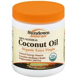 Sundown Naturals Coconut Oil
