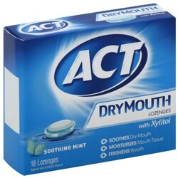 ACT Dry Mouth Lozenges