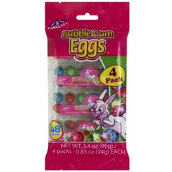 Carousel Bubble Gum Eggs