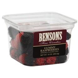 Bensons Gummy Raspberries