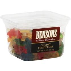 Bensons Gummy Centipedes