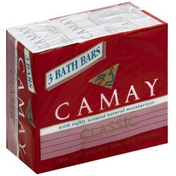 Camay Bath Bars