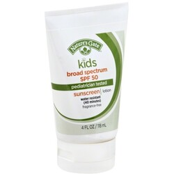 Natures Gate Sunscreen Lotion