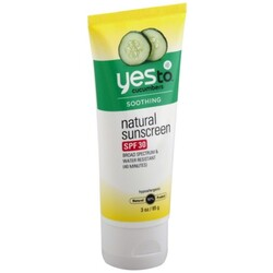 Yes To Sunscreen