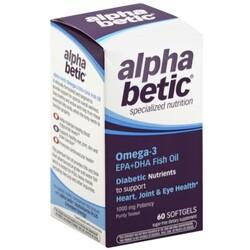 Alpha Betic Fish Oil