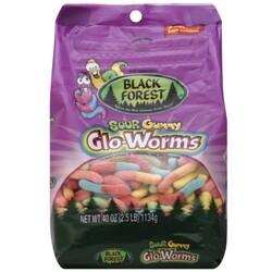 Black Forest Gummy Glo-Worms