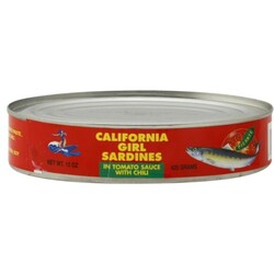 California Girl Sardines