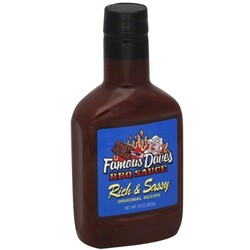 Famous Daves BBQ Sauce