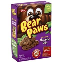 Bear Paws Cookies