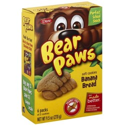 Bear Paws Soft Cookies