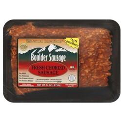 Boulder Sausage Chorizo Sausage