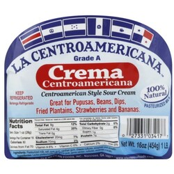 El Centroamericano Sour Cream