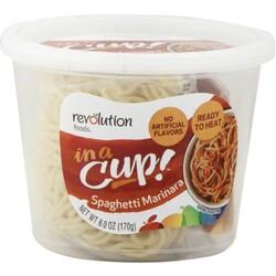 Revolution Foods Spaghetti Marinara