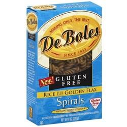 DeBoles Spirals Pasta