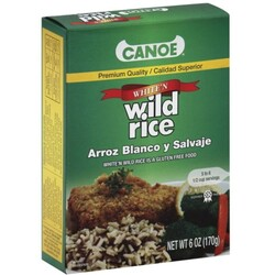 Canoe White'n Wild Rice