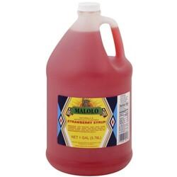 Malolo Strawberry Syrup