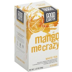 Good Earth White Tea