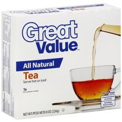 Great Value Tea