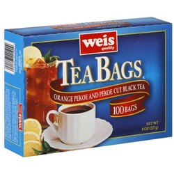 Weis Tea Bags