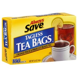 Always Save Tea Bags