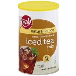 Big Y Iced Tea Mix