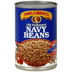 Mrs Grimes Navy Beans