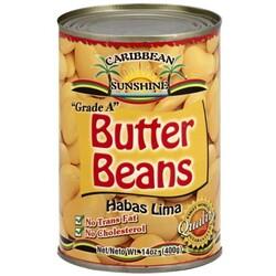 Caribbean Sunshine Butter Beans