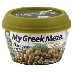 My Greek Meze Chickpeas