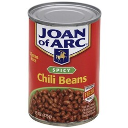 Joan Of Arc Chili Beans