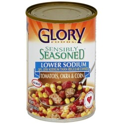 Glory Foods Tomatoes, Okra & Corn