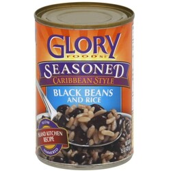 Glory Foods Black Beans and Rice