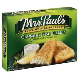 Mrs Pauls Fish Fillets