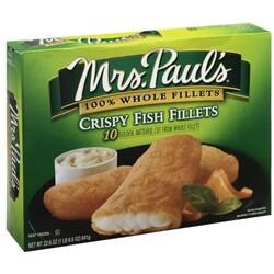 Mrs Pauls Fish Fillets