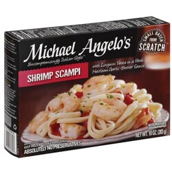 Michael Angelos Shrimp Scampi