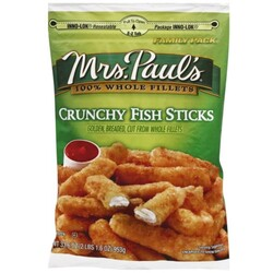 Mrs Pauls Fish Sticks