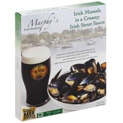 Murphys Irish Mussels in a Creamy Irish Stout Sauce