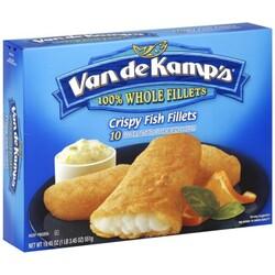 Van de Kamps Crispy Fish Fillets