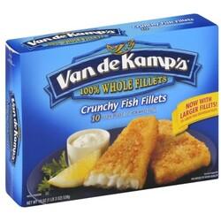 Van de Kamps Crunchy Fish Fillets