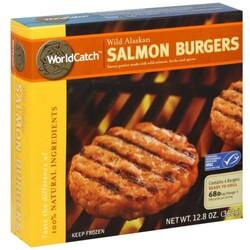 World Catch Salmon Burgers