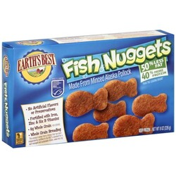 Earths Best Fish Nuggets