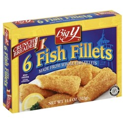 Big Y Fish Fillets