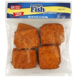 Clear Value Fish Portions