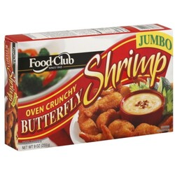Food Club Butterfly Shrimp