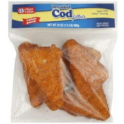 Clear Value Cod Fillets